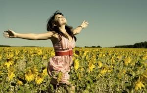 Mujer-feliz