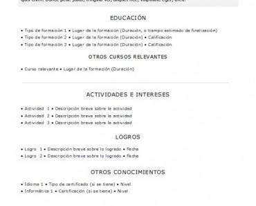 Curriculum Vitae Download Basico Marchigianadoc Tk