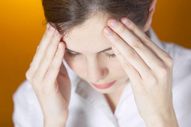 Stressed woman uid