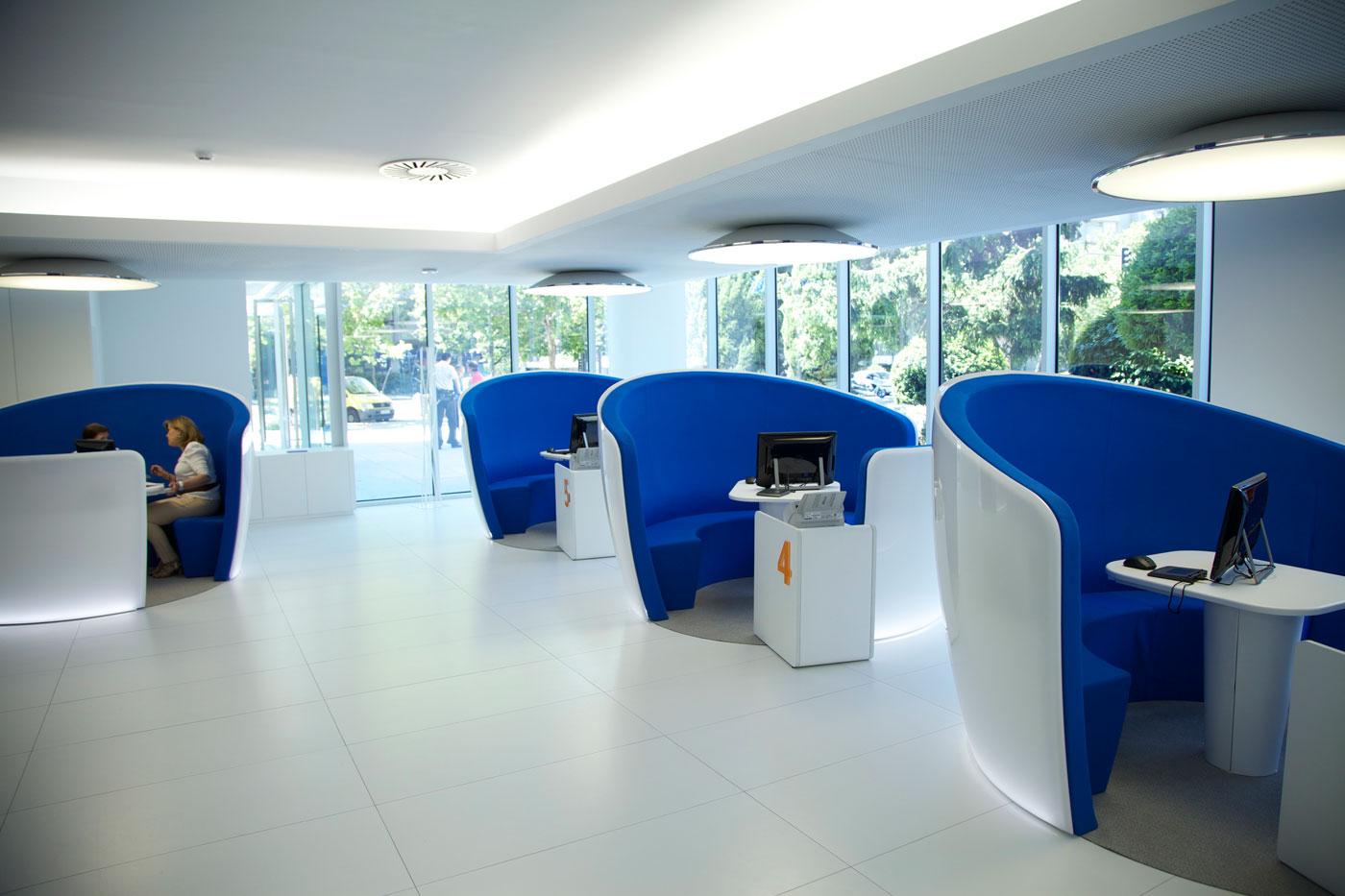 El futuro de la oficina trabajemos for Oficina bbva