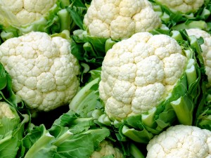 Close up shot of cauliflower